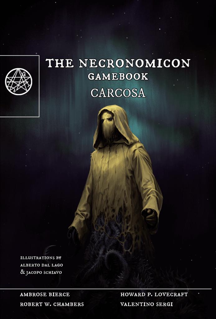 The necronomicon gamebook, cover